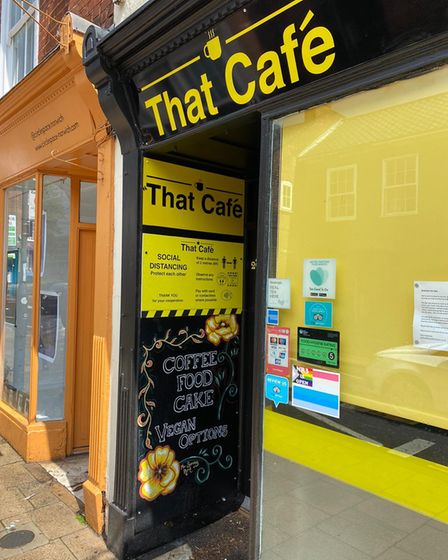That Café in Norwich has closed, with new owners sought.