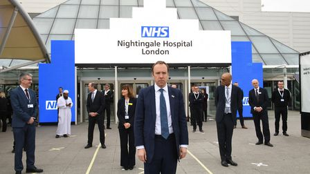Lord Bethell praised the NHS Nightingale hospital, set up in response to the coronavirus pandemic. P