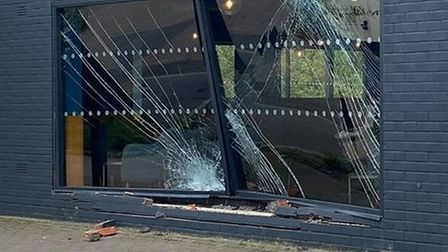 Car crashes into Starbucks in Acle