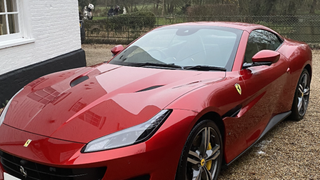A day out in a Ferrari Portofino is one of the prizes for the Break online auction