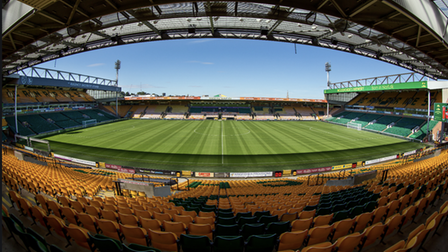 Tickets for Norwich City at Carrow Road is one of the prizes in the auction in aid of Break