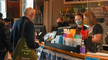 Customers being welcomed back at CInema City on St Andrews Street in Norwich. Picture: Danielle Bood