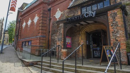 Cinema City on St Andrews Street in Norwich which has re-opened again to the public. Picture: Daniel
