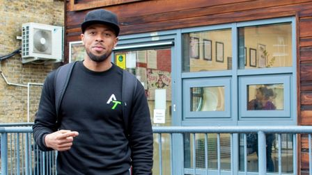 Adrian Tuitt spoke at Tyssen Primary School in Stamford Hill where he was a student.