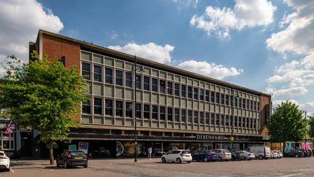 The Debenhams building in Romford Market Place has been sold for £12million. Picture: Savills/Jon Pa