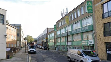 The storage centre in Brewery Road