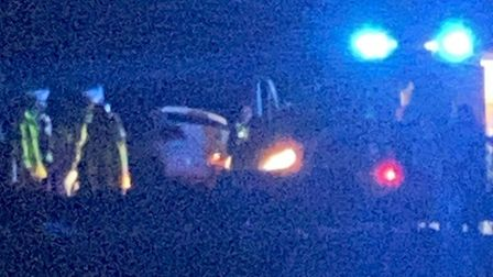 The driver of the car, an 18-year old woman from Littleport was pronounced dead at the scene