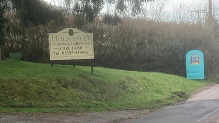 Holmesley Care Home at Sidmouth