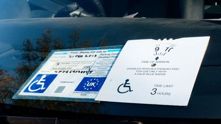 There has been a surge in demand for disabled parking blue badges.