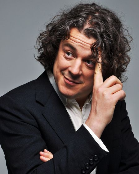 Alan Daviesis due to appear at the new St Albans Comedy Garden event in Verulamium Park.