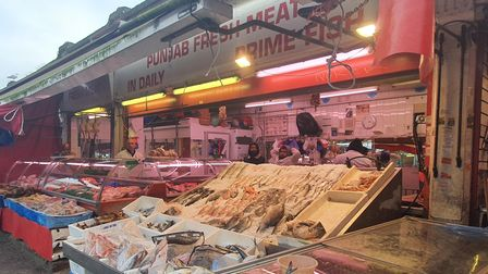 Ridley Road Market in January 2020.