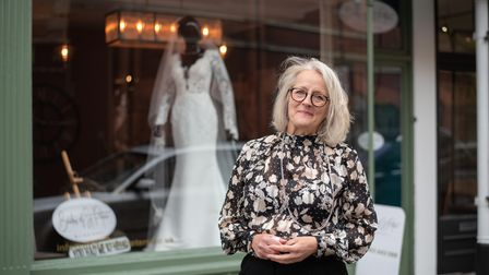 Sharon Higgs, who runs Brides of St Peters