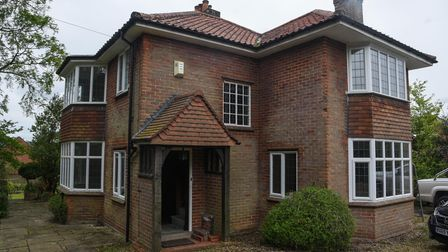 A house on Bluebell Road in Norwich which is going to be developed into affordable housing. Picture: