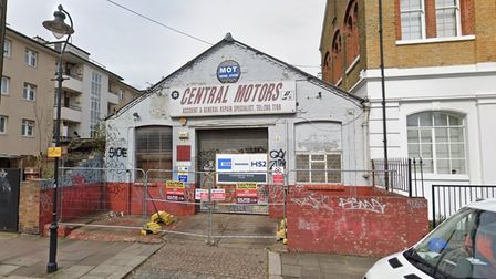 Plans for a works building in Kilburn that forms part of the High Speed 2 (HS2) railway development