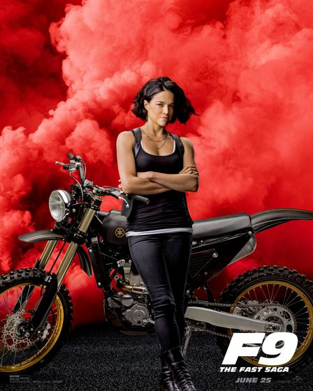 Michelle Rodriguez plays Letty in Fast and Furious 9.