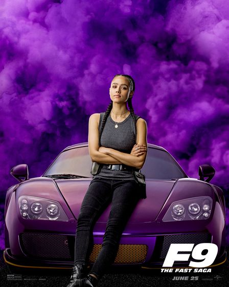 Nathalie Emmanuel returns as Ramsey in Fast and Furious 9.