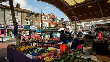 Queen's Market is set to benefit from a £2m grant. Picture: Newham Council