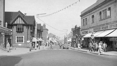 A street view of Regent Road, Great Yarmouth.