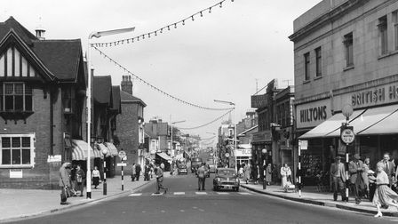 Yarmouth Regent Road in 1959