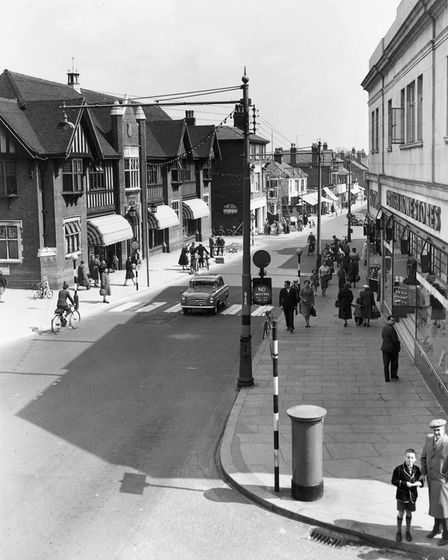 Regent Road at Great Yarmouth in the 1960s