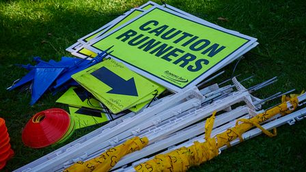 Organisers of parkrun are still indiscussions with landowners over the return of the 5k events.