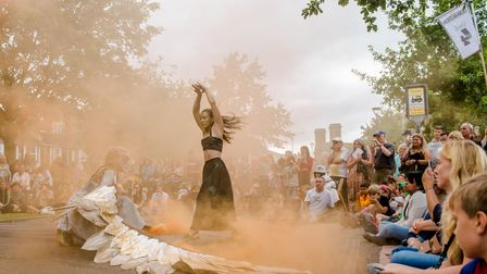 A dance from the 2019 Out There Festival