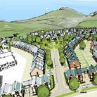 Artist impression of the Ilfracombe housing plans