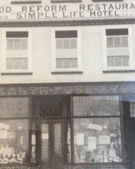 Victor Burr took over the Food Health Store in Letchworth in 1963. Picture: Burrs Shoe Store