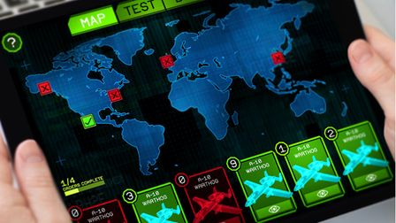 Airforce Action Stations is a new immersive tablet-based game.