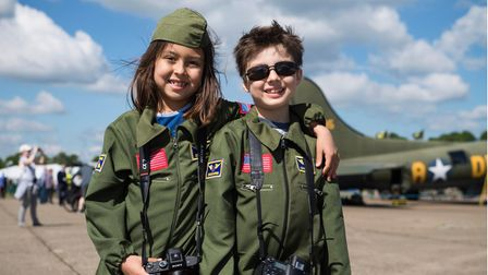 Families and younger fans can enjoyFlying Days: Showtime at IWM Duxford.