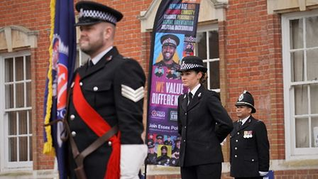 May 2021 Essex Police passing out parade
