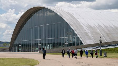 Duxford reopening to visitors insideafter COVID restrictions were lifted in May 2021.