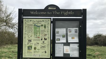 The Pightle in Eaton Socon is an area of natural beauty.