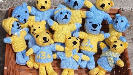 Honiton u3a are running a Spot the Teddies competition