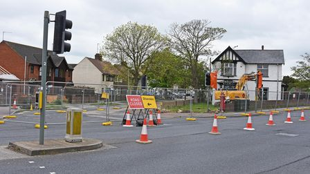"""As part of the""""upcoming works"""" for the£126.75m Gull Wing third crossing Durban Road in Lowestoft will be closed."""