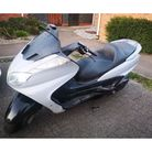 The moped (pictured)was abandoned on Village Way, Lowestoft