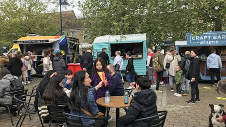 The St Neots Street Food Festival.