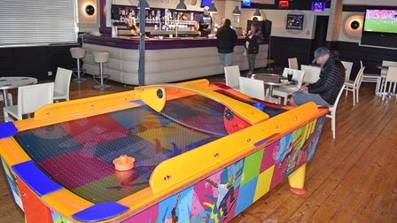The opening of Sports Bar @ Claremont Pier in Lowestoft this weekend.