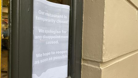 The McDonalds branch in Haymarket has temporarily closed.