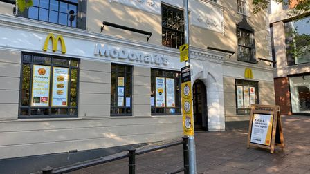 A McDonalds branch in Norwich has reopened on Monday, after it was forced to temporarily close.