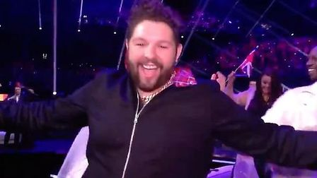 James Newman at the Eurovision Song Contest 2021