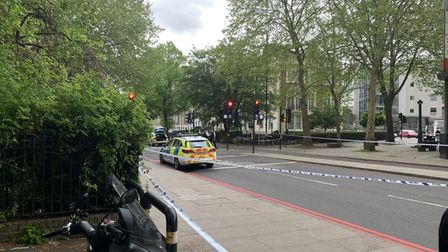 The Met Directorate of Professional Standards is investigating a crash between a cyclist and a marked police car in City Road