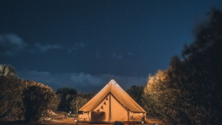 Escape the hustle and bustle of everyday life and pitch a tent under the stars here inSurrey