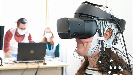 Researchers at the University of East Anglia are studying whether virtual reality can help treat chronic pain.
