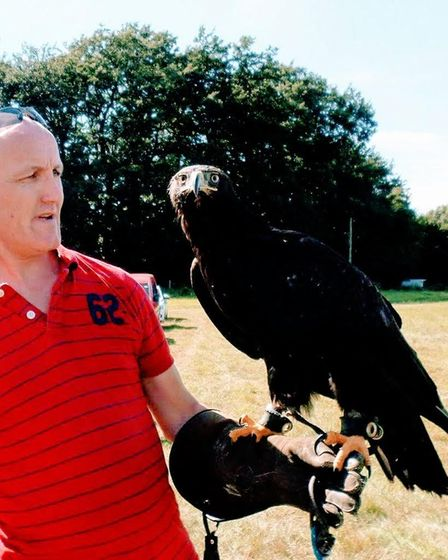 Kevin Murphy, who runs the 24 hour service Norfolk Wildlife Rescue, looked after Willow until she wa