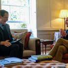 Alastair Campbell interviewing Prince William in 2017