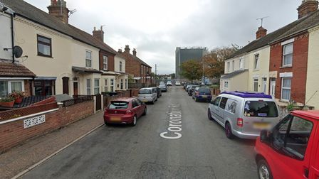 A woman has been arrested and charged after a crash in Cobholm Great Yarmouth