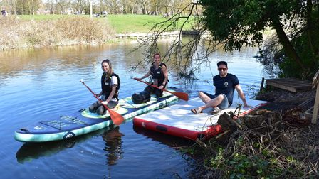 Norwich Paddleboard Hire have officially launched their new base at Gibraltar Gardens pub located on
