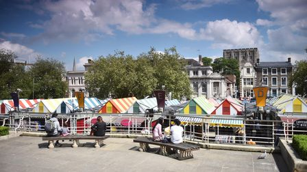 Norwich Market and Norwich Castle Museum. The city has been named one of the best places to live in