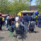 The St Neots Street Food Festival took place on the Market Square on Sunday.